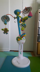 Tiny Love mobile & stand - $30