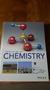 Wiley Chemistry by Olmsted, Williams and Burk (3rd  CDN edition)