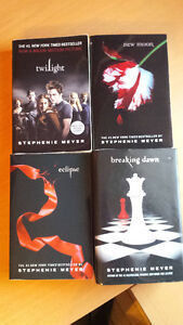4 tomes Twilight en anglais