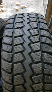 Winter tire 265 70 17  gmc ford dodge
