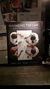 Managing the Law 4th Edition