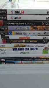 Ps3 Wii ps2 games for sale