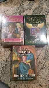 NEW Factory Sealed Set of 3 Doreen Virtue Oracle Cards Spiritual