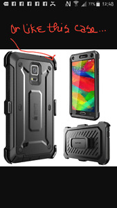 WANTED TO PURCHASE asap- SAMSUNG Note 4 Otterbox case or similar