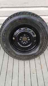 4 WINTER TIRES & RIMS FOR SUV (235/70R16)
