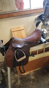 English saddle, chinks and more!