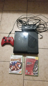 Xbox 360 cables controller and games