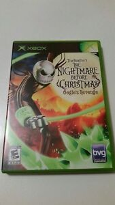 Nightmare before Christmas Xbox game