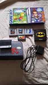 Batman Gameboy advance SP set