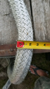 Big braided tow/boat/decorative/kids 2 1/4 rope.