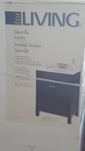 NEW FOR LIVING LAKEVILLE BATH VANITY W/SINK