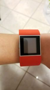 Fitbit surge w/ charger cord