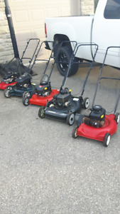 Gas Push Mowers For Sale