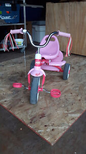 Pink Radio Flyer Girls Tricycle