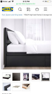Queen Bedroom Set - IKEA (Malm)