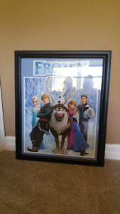 "Brand new framed ""Frozen"" picture"