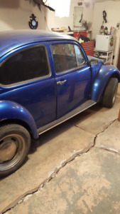 1972 VW Beetle Project