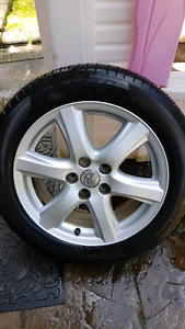 215 / 55 R17 Used Wheels and Used Pirelli Tires $350 OBO