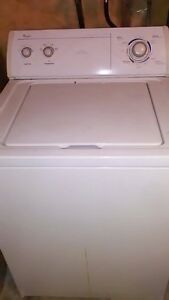 Whirlpool Super Capactiy washer & dryer.