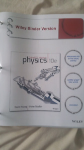 First year UofM UofW Physics/Chemistry/Biology textbooks