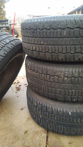 Used winter tires and rims Kitchener / Waterloo Kitchener Area image 1