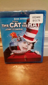 Dr. Seuss' The Cat in the Hat Blu-ray *UNOPENED*