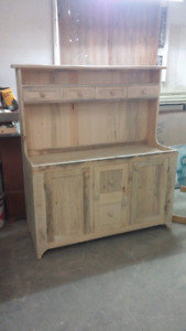 Pine reproduction dutch dry sink