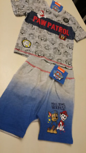 3T Boys Paw Patrol set...BRAND NEW WITH TAGS