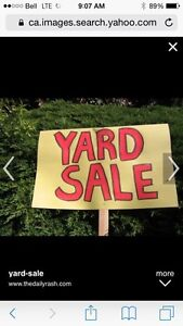 Indoor yard sale. 449 Water Street , Bay Roberts