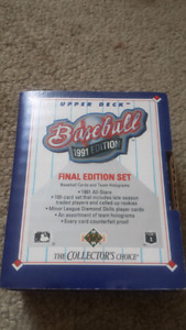 1991 edition upper deck baseball cards for sale