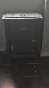 Antique cooler cabinet