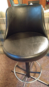 Swivel bar stools, two at $40 each