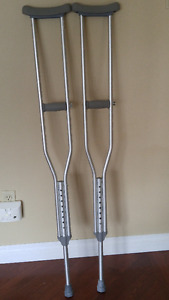 Pair of crutches -average adult size