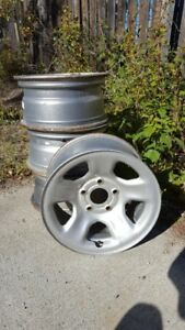 Steel winter rims for a Ram or Dodge
