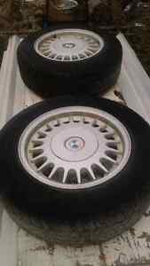 Set of 4 Winter tires with BMW rims Peterborough Peterborough Area image 4