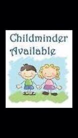 Childminder available for summer months