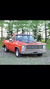 1977 454 Chevrolet C10 shortbox