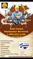 Quality affordable handyman services.