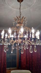 Solid brass antique chandelier