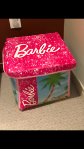Barbie storage case that opens