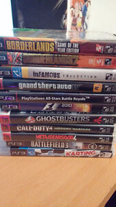 10 good condition ps3 games 10$ each