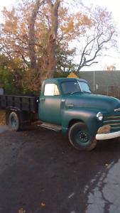 1953 chevy 1 ton. V8 auto. Road ready.