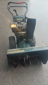 "11hp/31"" cut Craftsman 2 with Manual"