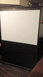 4' x 3' pop up projector display screen