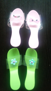 Princess plastic slippers