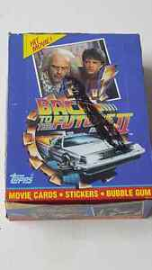 Complete booster box of back to the future 2 cards plus insert!