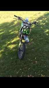 New PRO X 120cc dirt bike
