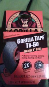 Gorilla tape 2 rolls