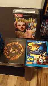 Super Blu-Ray and DVD collections