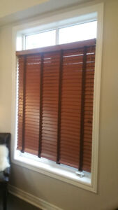 Hunter Douglas Faux Wood Window Blinds